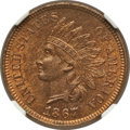 Indian Cents: , 1867 1C MS64 Red and Brown NGC. NGC Census: (146/132). PCGSPopulation (261/51). Mintage: 9,821,000. Numismedia Wsl. Price ...