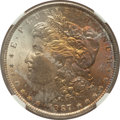 Morgan Dollars: , 1887 $1 MS66 NGC. NGC Census: (3678/313). PCGS Population(1383/72). Mintage: 20,290,710. Numismedia Wsl. Price forproblem...