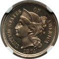 Proof Three Cent Nickels: , 1874 3CN PR66 NGC. NGC Census: (25/2). PCGS Population (21/1).Mintage: 700. Numismedia Wsl. Price for problem free NGC/PCG...