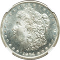 Morgan Dollars: , 1904-O $1 MS66 Prooflike NGC. NGC Census: (48/3). PCGS Population(65/0). Numismedia Wsl. Price for problem free NGC/PCGS ...