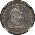Seated Half Dimes: , 1847 H10C MS64 NGC. NGC Census: (43/29). PCGS Population (29/35).Mintage: 1,274,000. Numismedia Wsl. Price for problem fre...