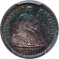 Seated Half Dimes: , 1871 H10C MS64 PCGS. PCGS Population (85/50). NGC Census: (120/53).Mintage: 1,873,960. Numismedia Wsl. Price for problem f...