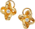 Estate Jewelry:Earrings, Diamond, Gold Earrings, Tiffany & Co.. ...