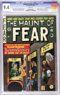 Golden Age (1938-1955):Horror, Haunt of Fear #17 (#3) Gaines File pedigree (EC, 1950) CGC NM 9.4White pages. The origins of the Crypt of Terror, the Vault...