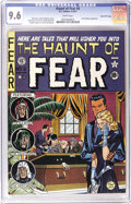 Golden Age (1938-1955):Horror, Haunt of Fear #6 Gaines File pedigree (EC, 1951) CGC NM+ 9.6 Whitepages. This issue features EC's first of several unauthor...