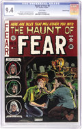 Golden Age (1938-1955):Horror, Haunt of Fear #9 Gaines File pedigree (EC, 1951) CGC NM 9.4 Whitepages. Jack Davis takes over as artist on the Crypt Keeper...