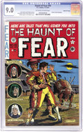 Golden Age (1938-1955):Horror, Haunt of Fear #10 Gaines File pedigree (EC, 1951) CGC VF/NM 9.0Off-white to white pages. Al Feldstein created the brilliant...