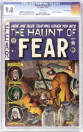 Golden Age (1938-1955):Horror, Haunt of Fear #11 Gaines File pedigree 7/12 (EC, 1952) CGC VF/NM9.0 White pages. The first cover by Graham Ingels on this t...