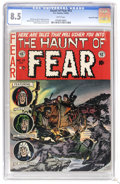 Golden Age (1938-1955):Horror, Haunt of Fear #13 Gaines File pedigree 9/12 (EC, 1956) CGC VF+ 8.5White pages. The great page quality stands out on this is...
