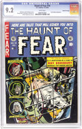 Golden Age (1938-1955):Horror, Haunt of Fear #16 Gaines File pedigree 8/11 (EC, 1952) CGC NM- 9.2White pages. A fantastic Jack Davis-drawn adaptation of a...