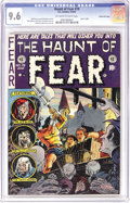 Golden Age (1938-1955):Horror, Haunt of Fear #19 Gaines File pedigree 10/12 (EC, 1953) CGC NM+ 9.6Off-white to white pages. When a cover with a beheading ...