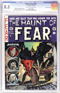 Golden Age (1938-1955):Horror, Haunt of Fear #21 Gaines File pedigree 7/10 (EC, 1953) CGC VF+ 8.5Off-white to white pages. This issue had an unusual artis...