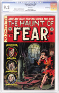 Golden Age (1938-1955):Horror, Haunt of Fear #22 Gaines File pedigree 7/12 (EC, 1953) CGC NM- 9.2White pages. Only one 9.4 and one 9.6 top this issue in C...