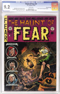 "Golden Age (1938-1955):Horror, Haunt of Fear #24 Gaines File pedigree 7/12 (EC, 1954) CGC NM- 9.2White pages. This issue's story ""The Secret"" was one that..."