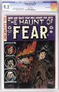 Golden Age (1938-1955):Horror, Haunt of Fear #25 Gaines File pedigree 7/12 (EC, 1954) CGC NM- 9.2White pages. Scarcer in the highest grades than some ECs,...