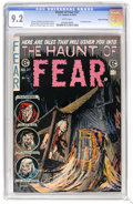 Golden Age (1938-1955):Horror, Haunt of Fear #27 Gaines File pedigree 7/12 (EC, 1954) CGC NM- 9.2White pages. The white pages of this issue, which feature...