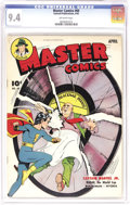 Golden Age (1938-1955):Superhero, Master Comics #60 (Fawcett, 1945) CGC NM 9.4 Off-white pages. Pretty copy has the look and grade of a pedigreed book. Overst...