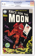 Golden Age (1938-1955):Science Fiction, Race For the Moon #3 File Copy (Harvey, 1958) CGC VF/NM 9.0 Creamto off-white pages. Jack Kirby cover. Kirby and Al William...