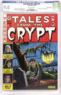 Golden Age (1938-1955):Horror, Tales From the Crypt #22 Gaines File pedigree 10/10 (EC, 1951) CGCVF/NM 9.0 Off-white pages. This issue's high-impact Al Fe...
