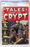 Golden Age (1938-1955):Horror, Tales From the Crypt #26 Gaines File pedigree 6/12 (EC, 1951) CGCNM/MT 9.8 Off-white to white pages. As of this writing, th...