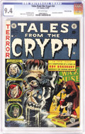 Golden Age (1938-1955):Horror, Tales From the Crypt #34 Gaines File pedigree 12/12 (EC, 1953) CGCNM 9.4 Off-white pages. This issue's horror-fest starts o...