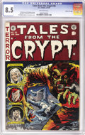 "Golden Age (1938-1955):Horror, Tales From the Crypt #35 Gaines File pedigree 7/11 (EC, 1953) CGCVF+ 8.5 Off-white pages. ""One of EC's most vivid horror im..."