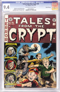 Golden Age (1938-1955):Horror, Tales From the Crypt #39 Gaines File pedigree 5/11 (EC, 1953) CGCNM 9.4 Off-white to white pages. The upper end of the CGC ...