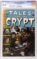 Golden Age (1938-1955):Horror, Tales From the Crypt #42 Gaines File pedigree 12/12 (EC, 1954) CGCVF 8.0 Off-white pages. Jack Davis cover. Davis, Jack Kam...
