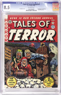 Golden Age (1938-1955):Horror, Tales of Terror Annual #2 (EC, 1952) CGC VF+ 8.5 Off-white pages.We hadn't seen a high-grade copy of this one in years! Thr...
