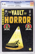 Golden Age (1938-1955):Horror, Vault of Horror #16 Gaines File pedigree 10/11 (EC, 1950) CGC NM9.4 Off-white to white pages. Johnny Craig's macabre master...
