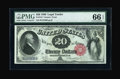 Large Size:Legal Tender Notes, Fr. 144 $20 1880 Legal Tender PMG Gem Uncirculated 66 EPQ....