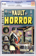 Golden Age (1938-1955):Horror, Vault of Horror #18 Gaines File pedigree 7/12 (EC, 1951) CGC NM/MT9.8 White pages. This copy's essentially perfect, both in...