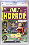 Golden Age (1938-1955):Horror, Vault of Horror #19 Gaines File pedigree 6/12 (EC, 1951) CGC NM/MT9.8 Off-white to white pages. Here's one of the highlight...