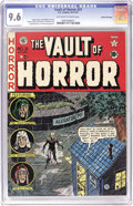 Golden Age (1938-1955):Horror, Vault of Horror #21 Gaines File pedigree 6/12 (EC, 1951) CGC NM+9.6 Off-white to white pages. Quiet, mounting terror was a ...