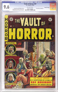 "Golden Age (1938-1955):Horror, Vault of Horror #29 Gaines File pedigree 6/11 (EC, 1953) CGC NM+9.6 Off-white pages. ""The Mausoleum"" is just plain scary! T..."