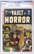 Golden Age (1938-1955):Horror, Vault of Horror #30 Gaines File pedigree 7/12 (EC, 1953) CGC NM-9.2 Off-white to white pages. The severed-limb cover by Joh...