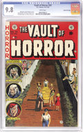 Golden Age (1938-1955):Horror, Vault of Horror #33 Gaines File pedigree 10/11 (EC, 1953) CGC NM/MT9.8 White pages. This issue's Johnny Craig cover should ...