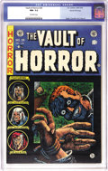 Golden Age (1938-1955):Horror, Vault of Horror #34 Gaines File pedigree 11/12 (EC, 1954) CGC NM-9.2 Off-white pages. Much of this issue's chilling cover s...