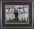 Autographs:Photos, 2003 St. Louis Cardinals gold Glove Winners Multi-SignedPhotograph. In 2003 the St. Louis Cardinals raked in the NL GoldG...