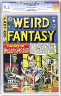 Golden Age (1938-1955):Science Fiction, Weird Fantasy #13 (#1) Gaines File pedigree 10/10 (EC, 1950) CGCNM- 9.2 Off-white to white pages. Not just the most valuabl...