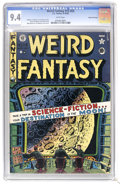 Golden Age (1938-1955):Science Fiction, Weird Fantasy #15 (#3) Gaines File pedigree 11/11 (EC, 1950) CGC NM9.4 White pages. Check out this colorful Al Feldstein co...