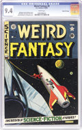 """Golden Age (1938-1955):Science Fiction, Weird Fantasy #9 Gaines File pedigree 11/11 (EC, 1951) CGC NM 9.4White pages. This issue featured """"A Mistake in Multiplicat..."""