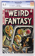 Golden Age (1938-1955):Science Fiction, Weird Fantasy #16 Gaines File pedigree 12/12 (EC, 1952) CGC VF+ 8.5 Off-white pages. The best EC artists often managed to di...