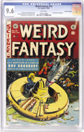 Golden Age (1938-1955):Science Fiction, Weird Fantasy #18 Gaines FIle pedigree 11/11 (EC, 1953) CGC NM+ 9.6 White pages. Al Williamson teamed up with several other ...