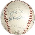 Autographs:Baseballs, 1955 New York Giants Team Signed Baseball. A total of 22 from the1955 New York Giants have applied signatures to the ONL (...