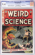Golden Age (1938-1955):Science Fiction, Weird Science #21 Gaines File pedigree 5/11 (EC, 1953) CGC NM 9.4Off-white to white pages. With no 9.8 copies and just one ...