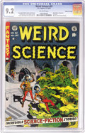 Golden Age (1938-1955):Horror, Weird Science #22 Gaines File pedigree 5/11 (EC, 1953) CGC NM- 9.2Off-white pages. One of the EC stories you'll never forge...