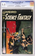 Golden Age (1938-1955):Science Fiction, Weird Science-Fantasy #29 (EC, 1955) CGC FN- 5.5 Off-white to whitepages. Three words: Frank Frazetta cover. Need we say mo...