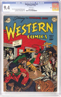 Golden Age (1938-1955):Western, Western Comics #2 Ohio pedigree (DC, 1948) CGC NM 9.4 White pages.Only the Mile High copy has been graded higher than this ...