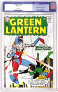 Silver Age (1956-1969):Superhero, Green Lantern #1 (DC, 1960) CGC VF+ 8.5 Off-white pages. The firstissue of Green Lantern's own series (following his debut ...